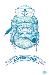Adventure Sailor by zacharyxbinks
