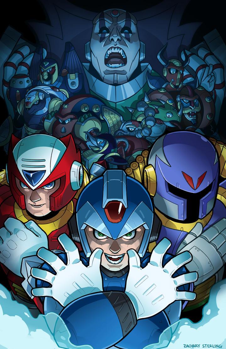 Megaman X Fanart by zacharyxbinks