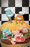 Amazing World of Gumball #1 variant by zacharyxbinks