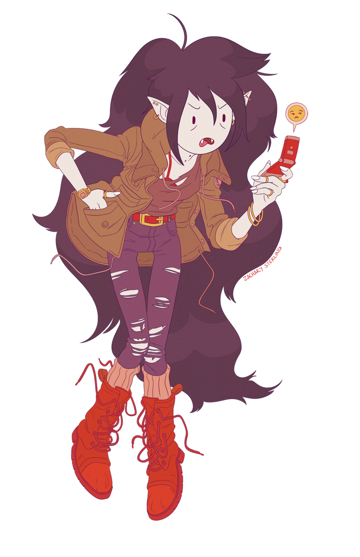 Marceline, Why Are You So Mean? by zacharyxbinks