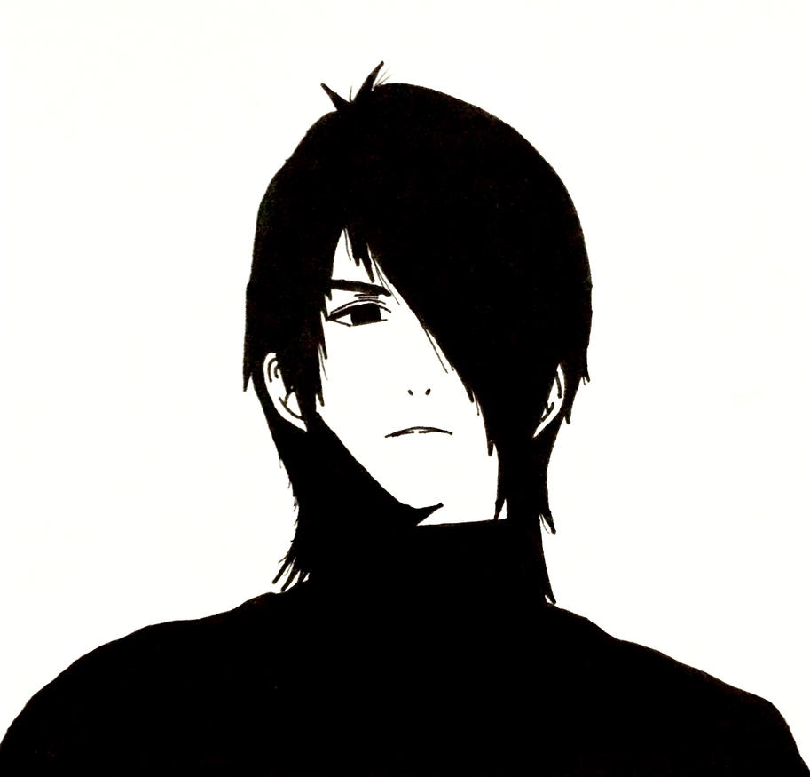 Modern Sasuke! Tho he looks different by Gaara-ate-yo-ramen