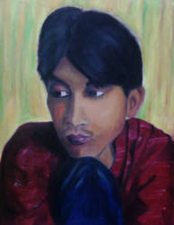 my portrait painted by some1 by Los825