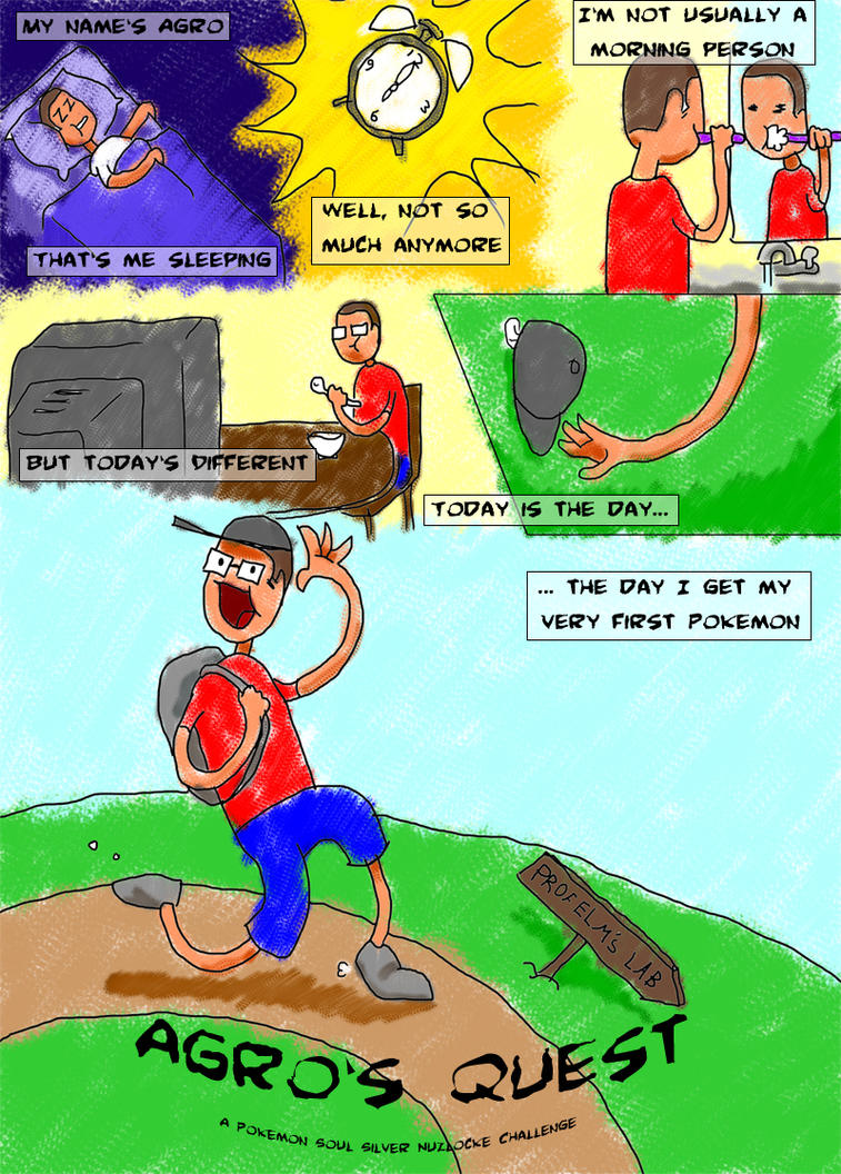 Agro S Quest A Pokemon Soul Silver Nuzlocke Comic By Asrodrig On Deviantart
