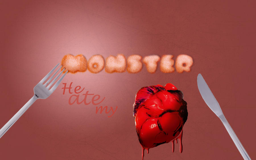 Monster-He ate my heart by Baneling77