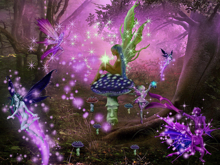 forest fairy wallpaper - photo #32
