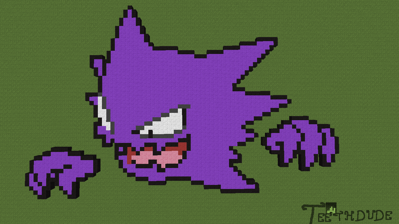 Haunter PixelArt by Teethdude