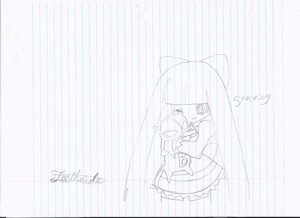 Drawing of Stocking by Teethdude