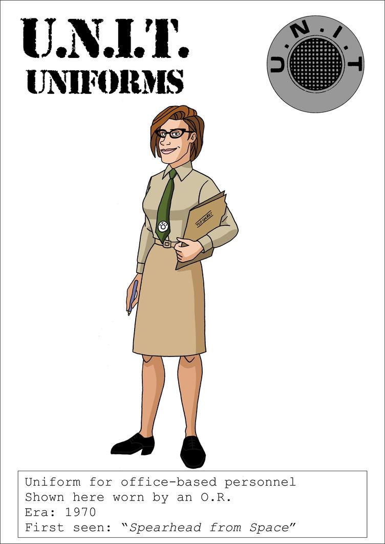1960s UNIT Office Personnel Uniform by VoteDave