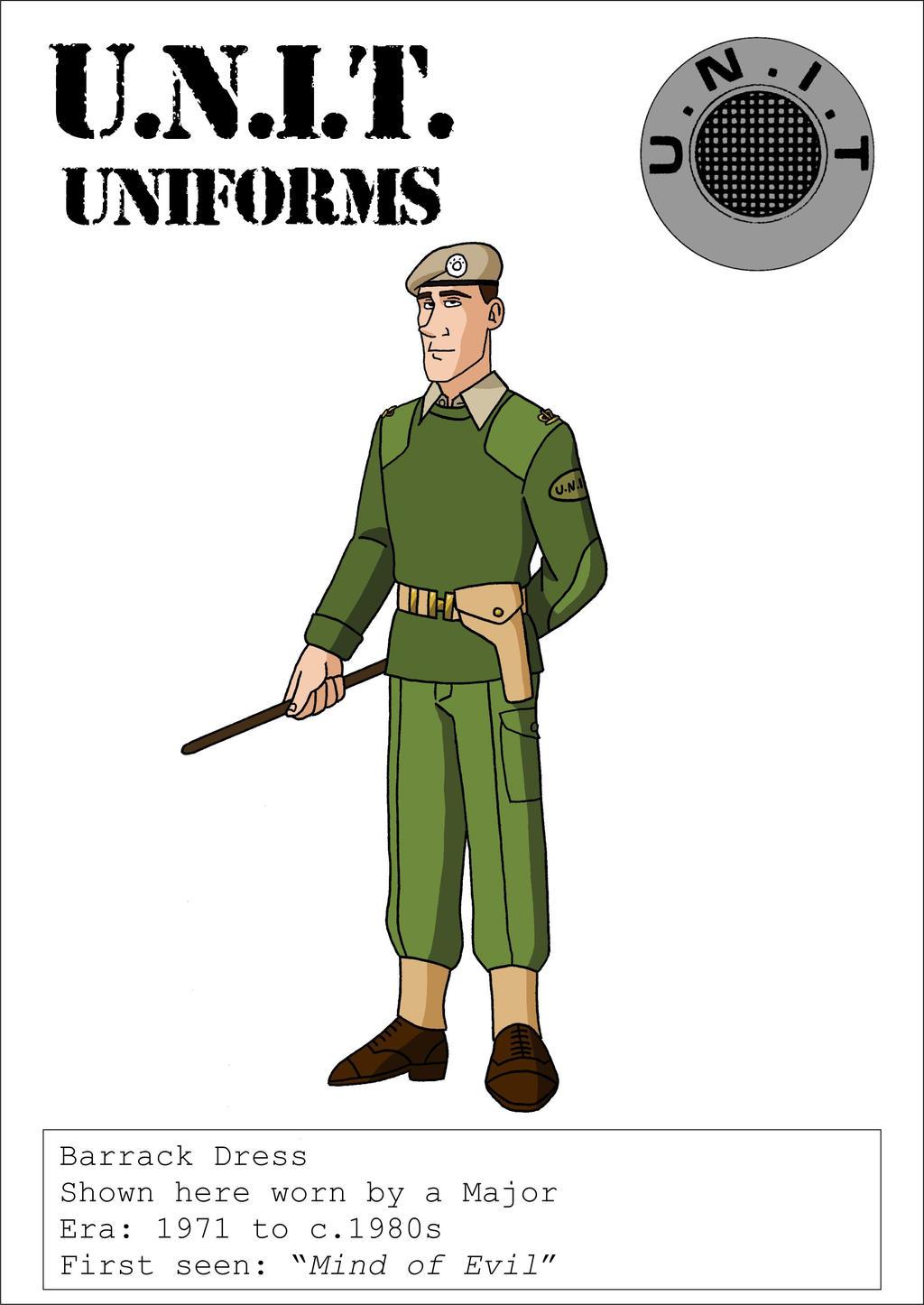 1970s UNIT Barrack Dress Uniform by VoteDave