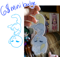 6$ Mini Badge YCH (open) by Nawnii