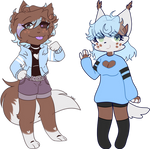 This Weeks Fusions! Yeager and Sashley (collab)