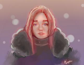 Winter (portrait study - 06)