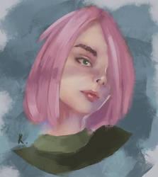 Portrait Study - 08