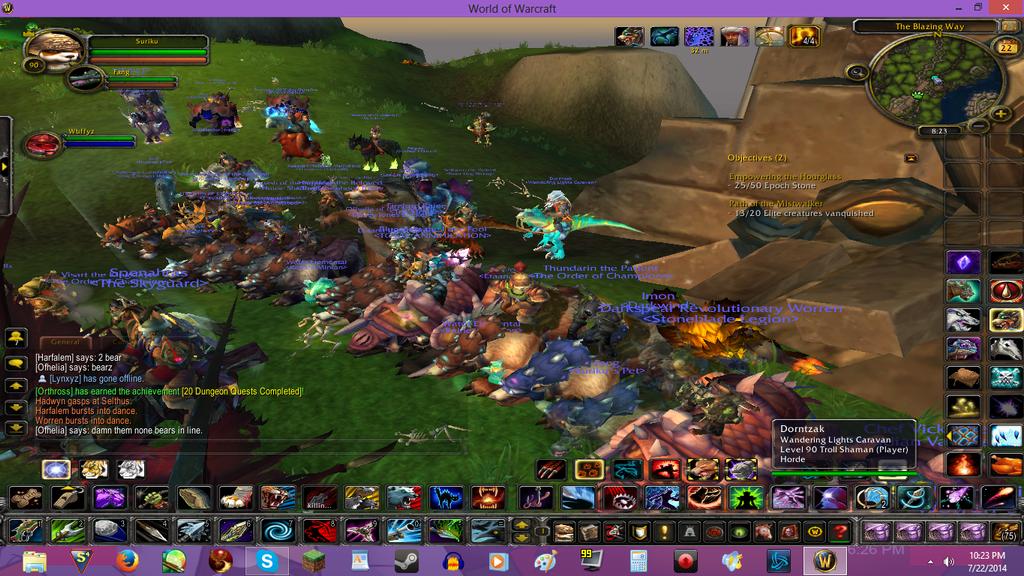 World of Warcraft - Bear Line by knuckles6k