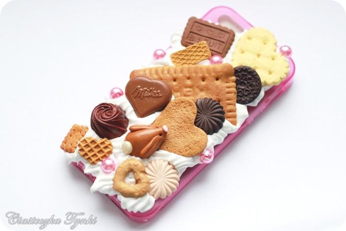 sweet iphone 5 case with cute bunny by ciasteczkatynki