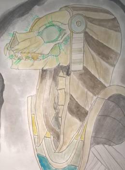 Smite - Gravehound Anubis fan art