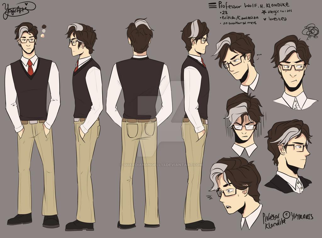 Professor Klondike by GuardianAngell13