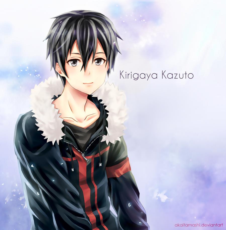 Kirigaya Kazuto by akaitamashi