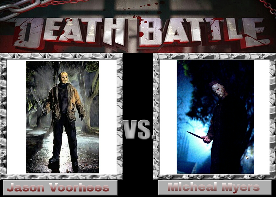 Jason Voorhees Vs Michael Myers By DarkFire1000