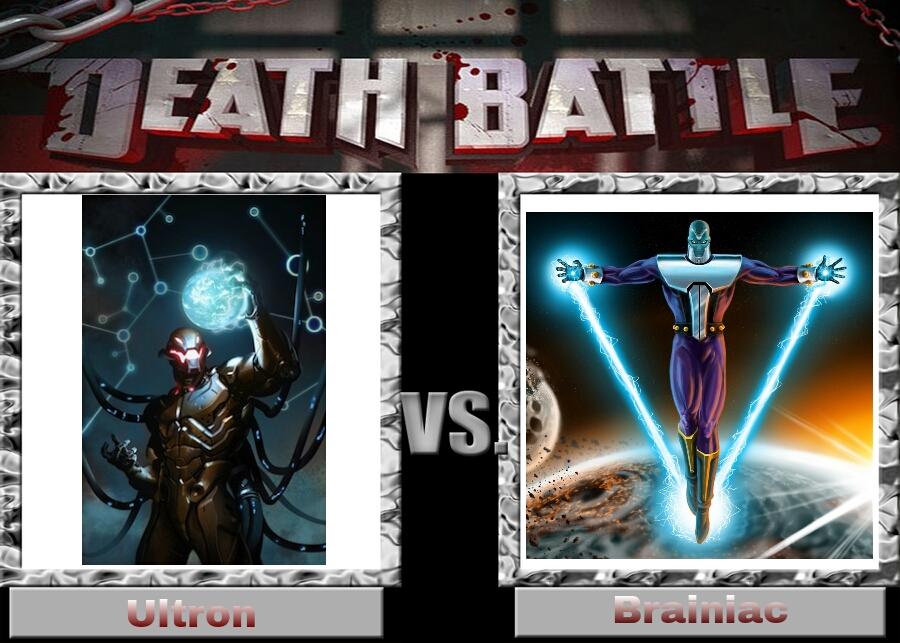 Ultron vs Brainiac by DarkFire1000 on DeviantArt