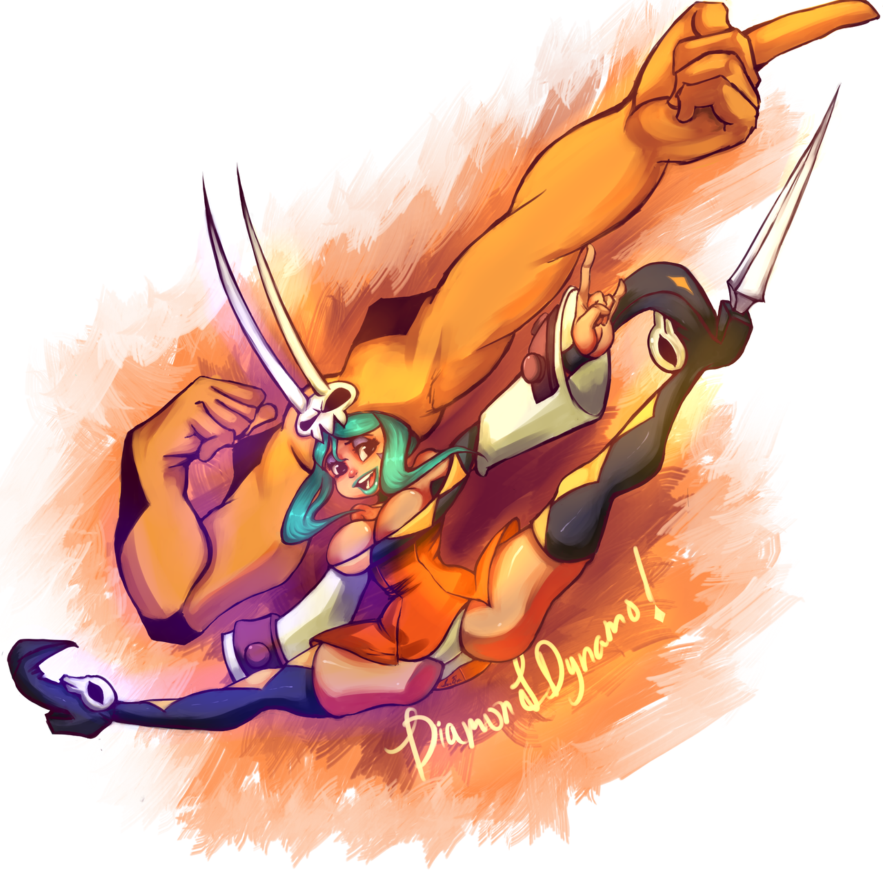 Cerebella Diamond Duo by ButteryFingers