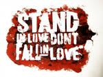Stand Stencil by onelovedivine