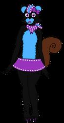 Cindy the Squirrel by hibridofazber