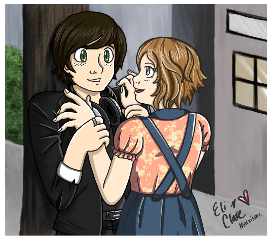 Degrassi: Eli and Clare by xMarzisme