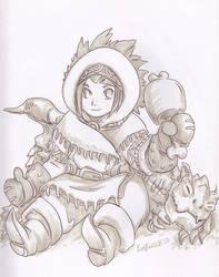 Monster Hunter by Kimbot