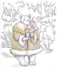 Polarbear Cocoa by Kimbot