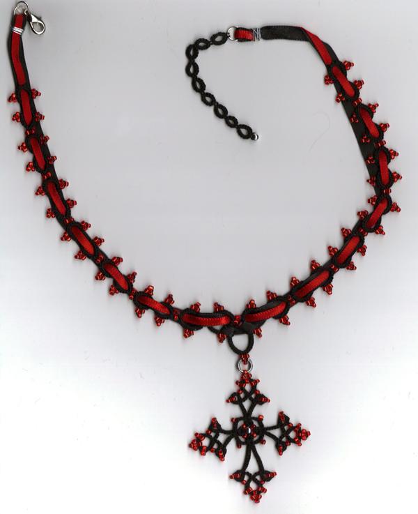 Faith of the Goth Choker by SaraStar