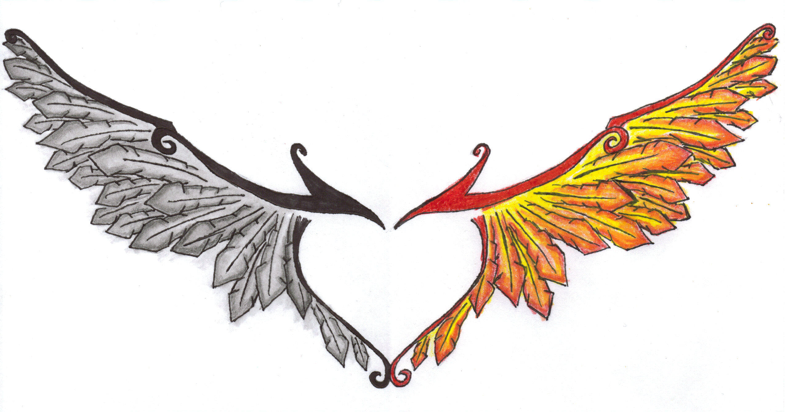 Phoenix Wings By Sarastar On Deviantart
