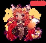 Steampunk Fox Chibi