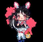 Black Bunny Chibi