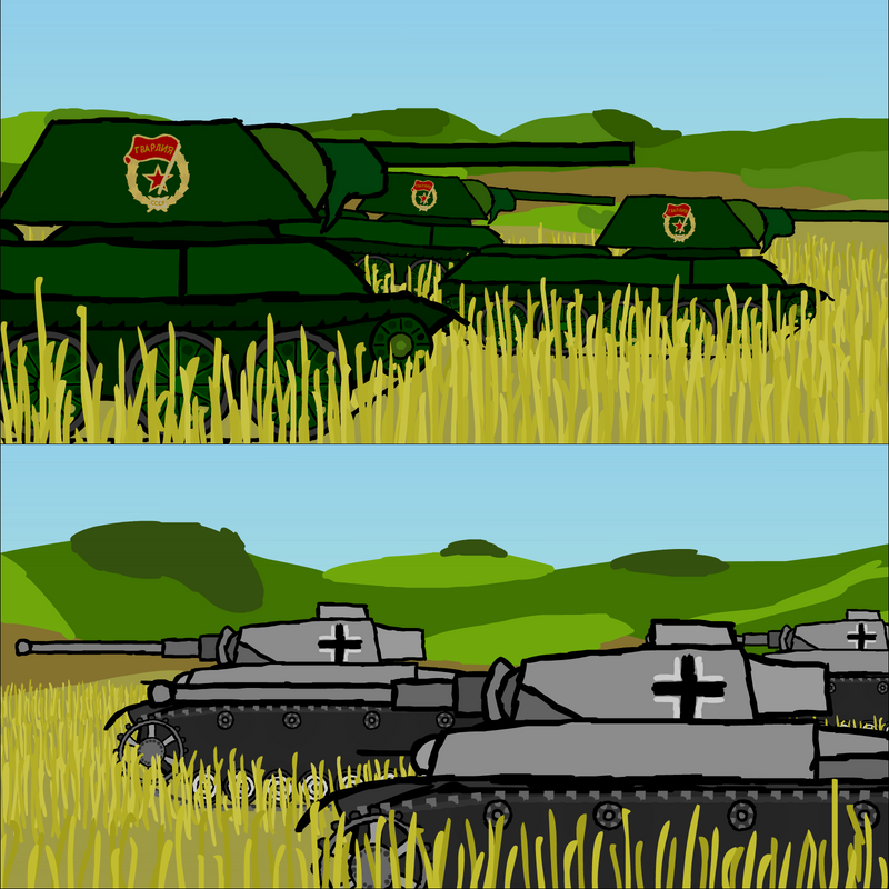 Eastern front short - still 01 by tabun