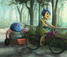 Joy x Sadness: bikeride