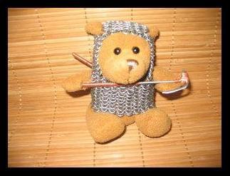 Medieval teddy by Jarathorn