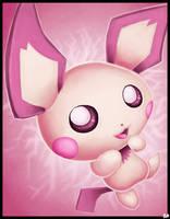'Nuzzle' - PICHU Speedpaint (Pokemon) by rio-is-ok