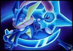 'Water Shuriken'- GRENINJA Speedpaint (Pokemon)
