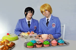 Tamaki and Kyoya - Who is the real king? by isasdanna