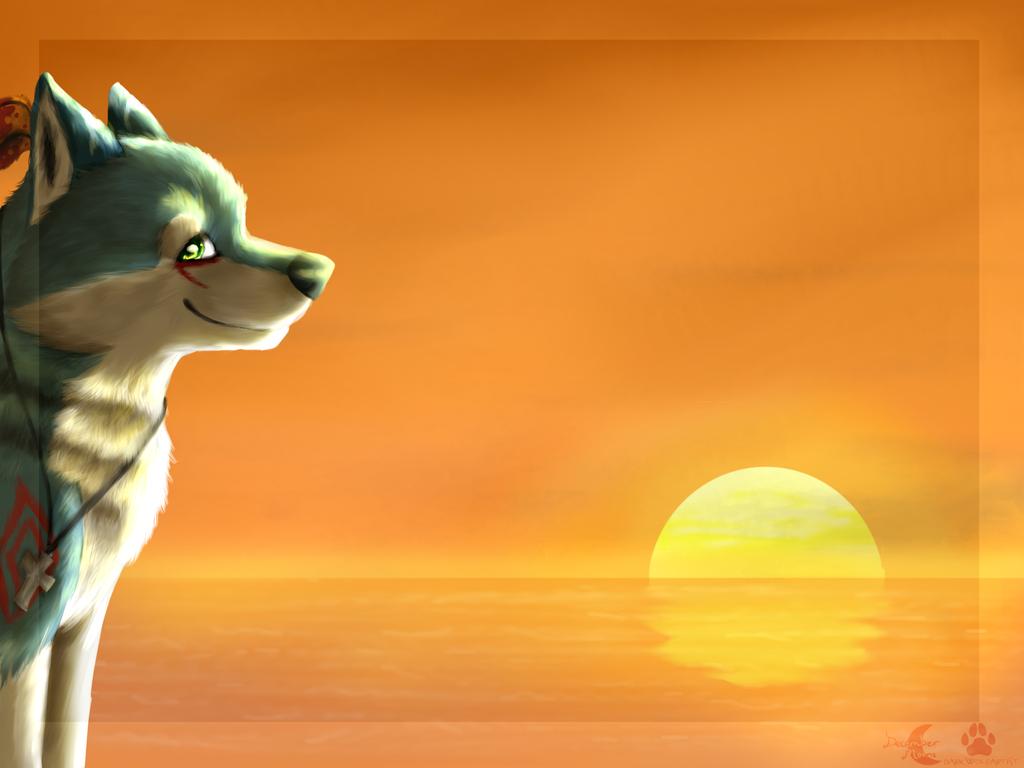 The Sunset Breeze by DarkWolfArtist