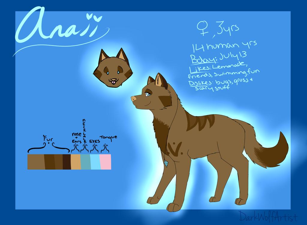 Anaii Reference 2014 by DarkWolfArtist