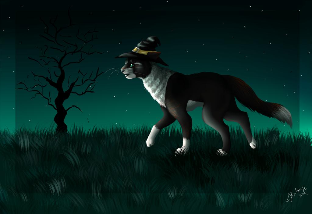 Fright at Night by DarkWolfArtist