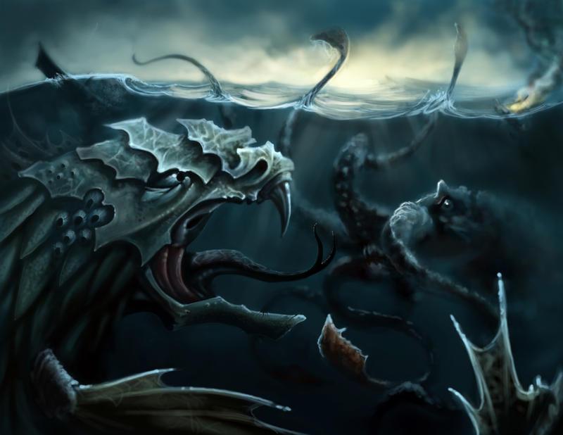 Leviathan vs cthulhu