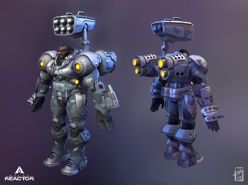 Atlas Reactor: Garrison by ThranTantra