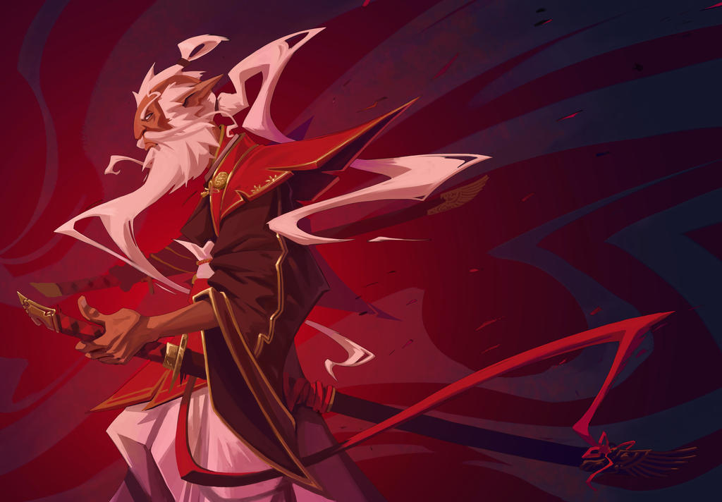 Red Shogun by ThranTantra