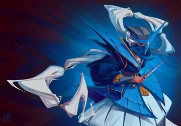 Azure Ninja by ThranTantra