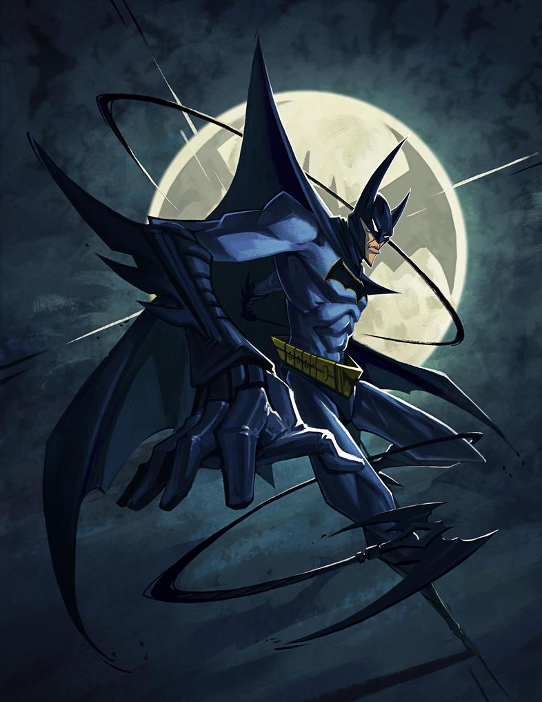 Batman by ThranTantra