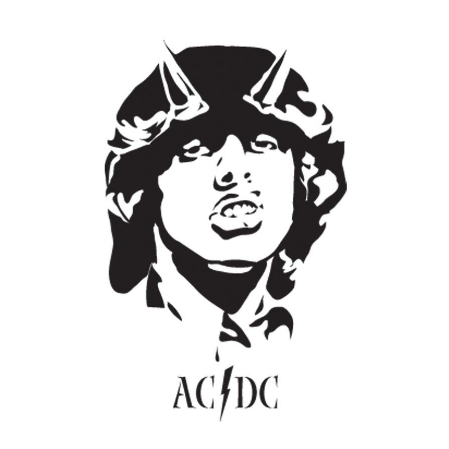 Acdc Logo By Thrantantra On Deviantart