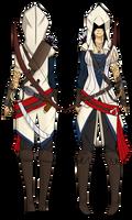 Assassins Creed III OC :Anaelle Hemenway: